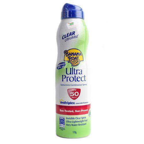 Chemtech - Banana Boat Beauty & Personal Care Banana Boat, Ultra Protect spray, SPF50, 170g