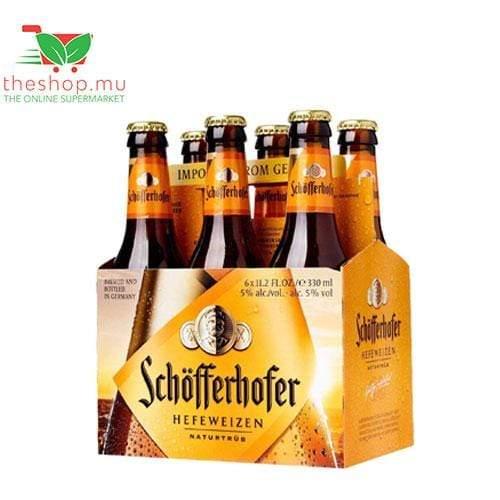 Chemtech Beverages Schöfferhofer, Wheat Beer, 330ml, Pack of 6