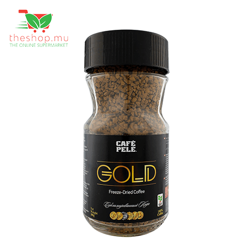 Cafe Pele, Gold Freeze-Dried Coffee, 100g