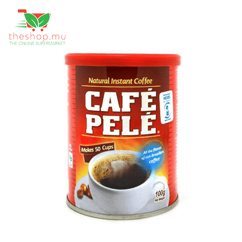 Chemtech - Café Pele Pantry Cafe Pele, Natural Instant Coffee Tin, 100g