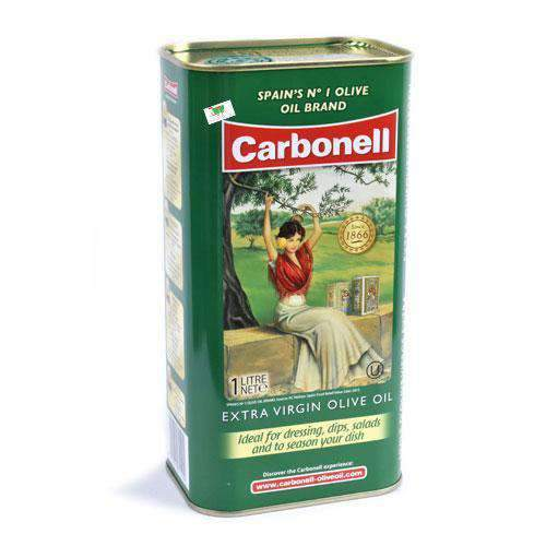 Chemtech - Carbonell Pantry Carbonell, Extra Virgin Olive Oil Tin, 1L