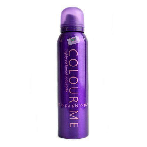 Colour Me, body spray for her, Purple, 15cl