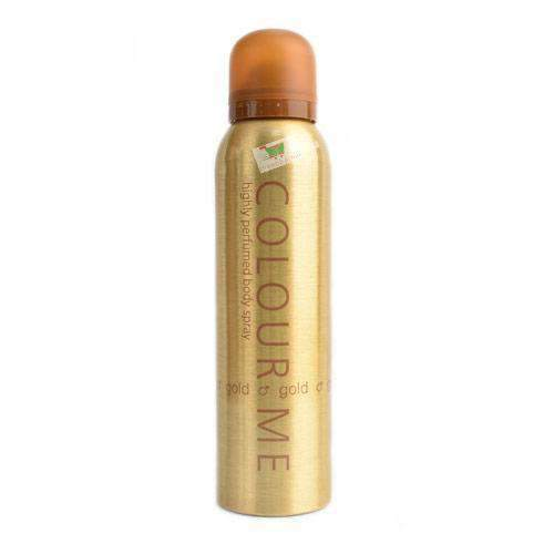 Chemtech - Colour Me Beauty & Personal Care Colour Me, body spray for him, Gold, 15cl