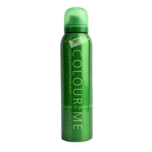 Chemtech - Colour Me Beauty & Personal Care Colour Me, body spray for him, Green, 15cl