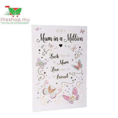 Chemtech Flowers & Gifts Mother's Day Greeting Card - Mom in a million