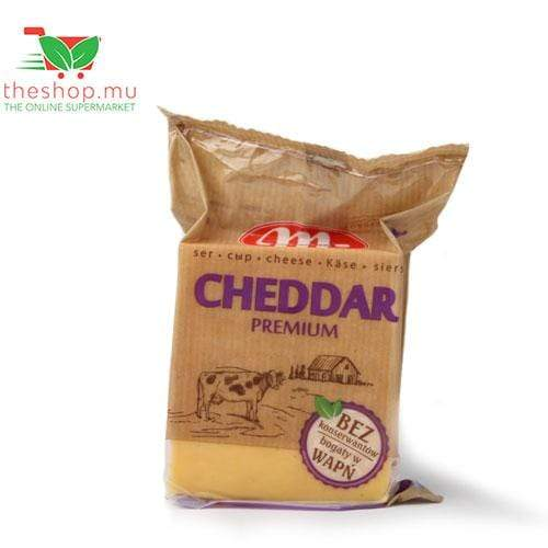 Chemtech Ltd Fresh Products Mlekovita, Pieces Cheddar Cheese, 250g