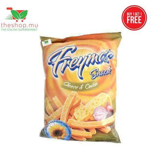 Chemtech Ltd Pantry BUY 1 GET 1 FREE - Freyma's Snack, Cheese & Onion, 75g