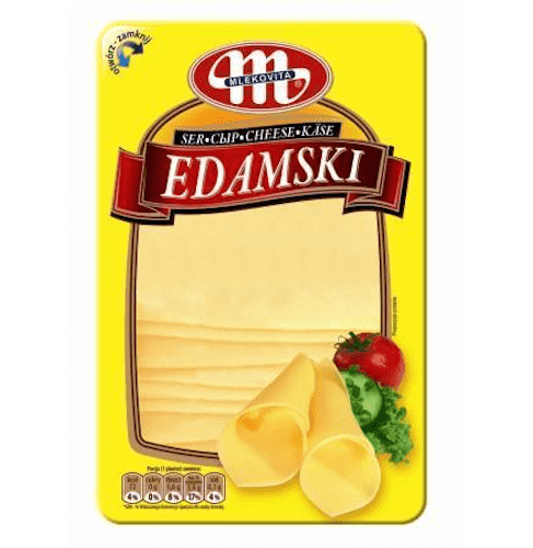 Chemtech - Mlekovita Fresh Products Mlekovita, Sliced Edamski Cheese, 150g