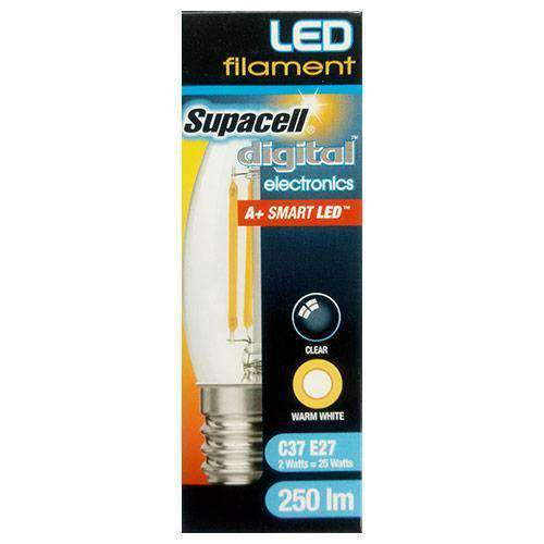 Chemtech - Supacell Home & Garden Supacell LED Bulb, C37 E27, 25W, 250lm