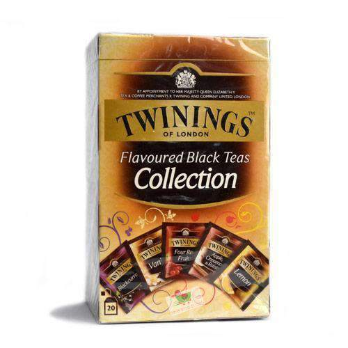 Twinings,  Black Teas Collection, 20 bags