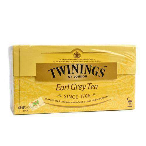 Twinings, Earl Grey Black Tea, 25 tea bags