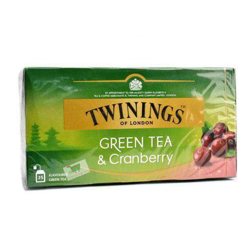 Chemtech - Twinings Pantry Twinings, Green Tea & Cranberry, 25 tea bags