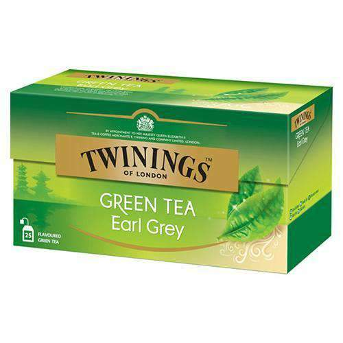Chemtech - Twinings Pantry Twinings, Green Tea Earl Grey, 25 tea bags