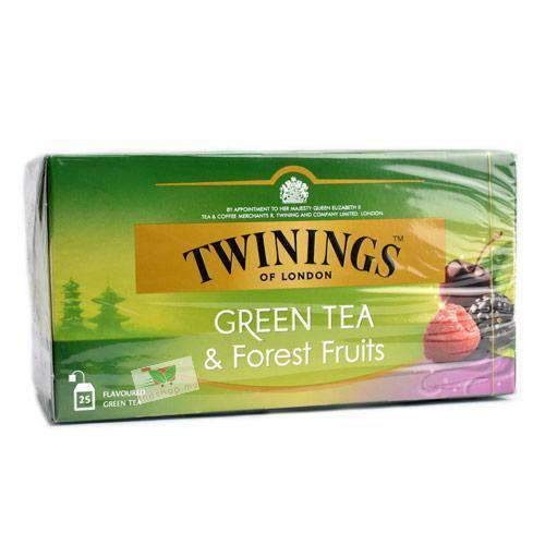 Twinings, Green Tea & Forest Fruits, 25 tea bags