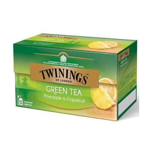 Chemtech - Twinings Pantry Twinings, Green Tea Pineapple/Grapefruit, 25 bags