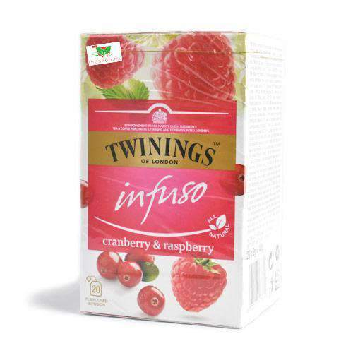 Chemtech - Twinings Pantry Twinings Infuso, Cranberry & Raspberry, 20 bags