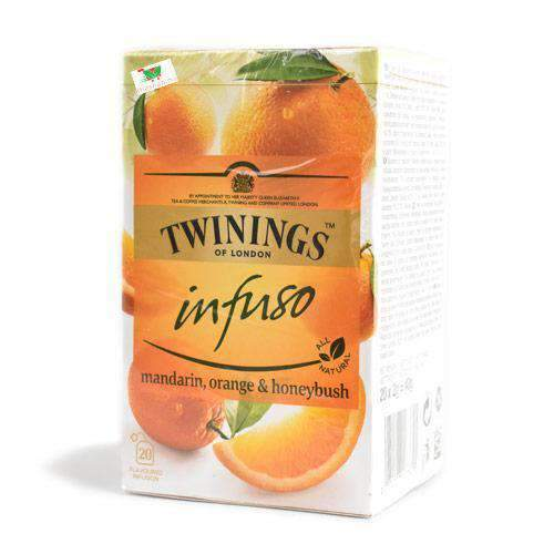 Chemtech - Twinings Pantry Twinings Infuso, Madarin/Orange/Honeybush, 20 bags