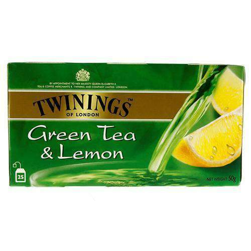 Chemtech - Twinings Pantry Twinings, Organic Green Tea & Lemon, 25 tea bags