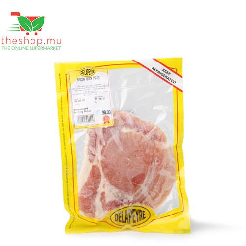 Delapeyre LTD Frozen Delapeyre, Frozen Bacon Back, 170-200g