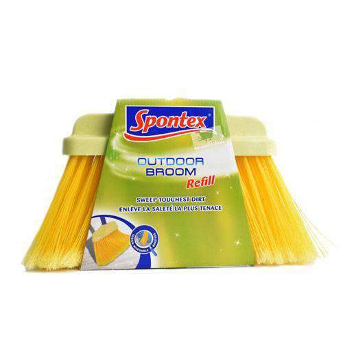 Deramann - Spontex Household Supplies yellow Spontex, Outdoor Broom Refill