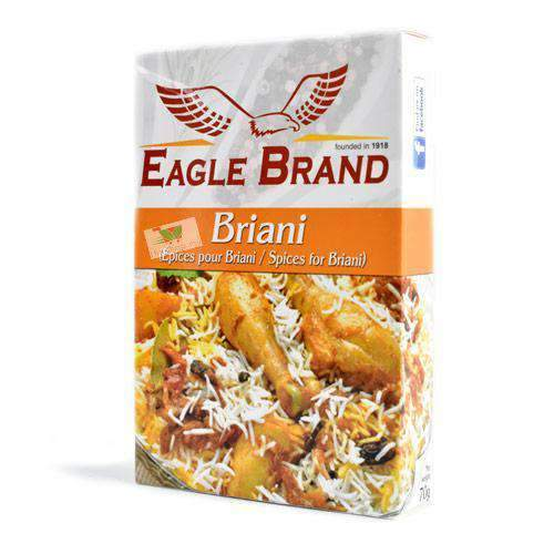 Eagle Brand - Eagle Brand Pantry Eagle Brand, Spices for Briyani, 70g