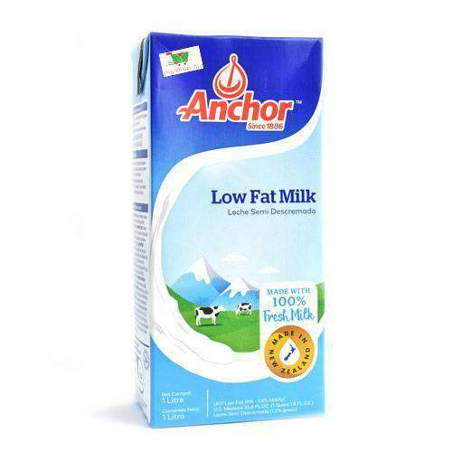 Edendale - Anchor Milk & Eggs Anchor, UHT Low Fat Milk, 1L
