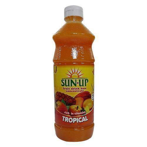 Sun Up, Tropical Fruit Drink base concentrate 85cl