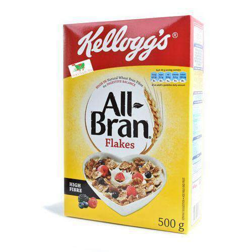 Kellogg's, All Bran Flakes, 500g