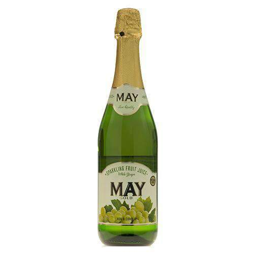 Food Canners - May Beverages May, Sparkling White Grape Drink, 750ml