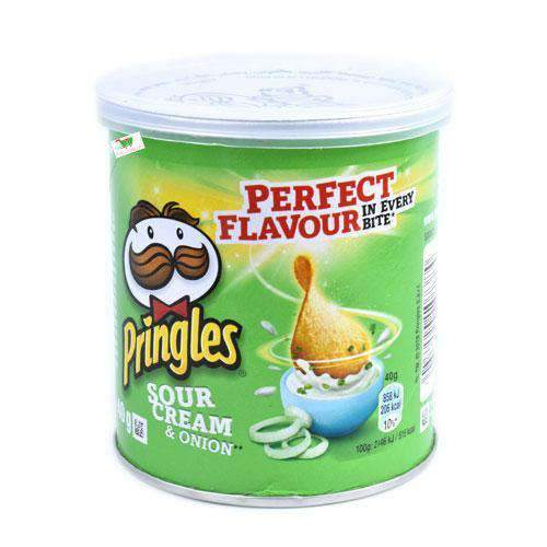 Food Canners - Pringles Pantry Pringles, Sour Cream & Onion, 40g