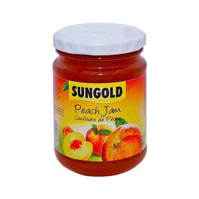 Food Canners - Sungold Pantry Sungold, Peach Jam, 285g