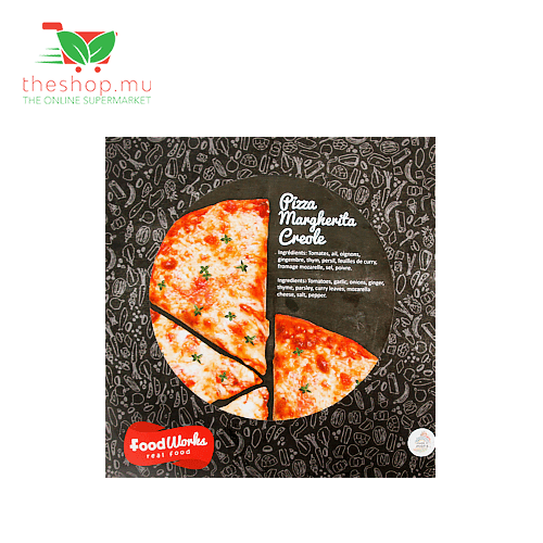 Foodworks, Creole Margherita Pizza, 380g