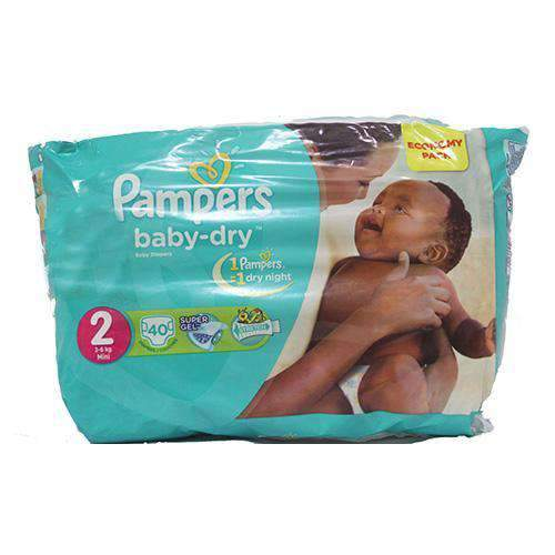 Freelance Distributors - Pampers Baby Pampers, Mini Size 2 Economy Pack