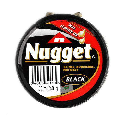 Grays - Nugget Home & Garden Nugget, Shoe Polish, Black, 50ml