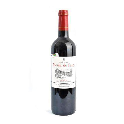 Grays - Wine Beverages Chateau Moulin de Cassy, Médoc, Red Wine, 750ml