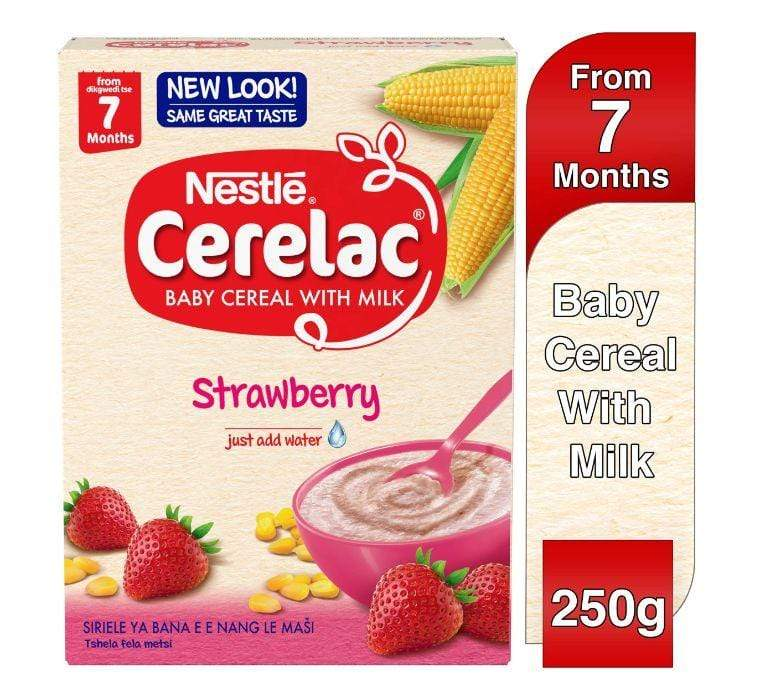 H.A Ramtoola & Sons Ltd Baby NESTLÉ®, CERELAC® Little 1s stage 4, 12 months+, Strawberry, 250g box