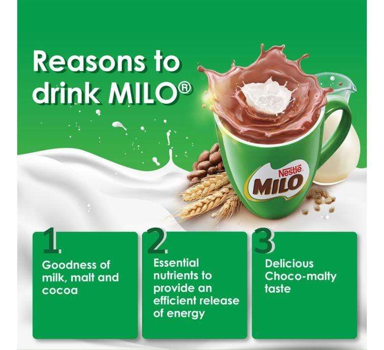 H.A Ramtoola & Sons Ltd Pantry NESTLÉ®, MILO® ACTIV-GO cocoa malt powder, 400g softpack