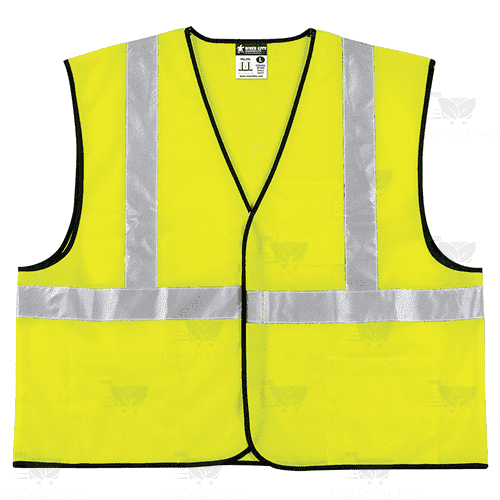 H. Lee Pak Tong - Generic Product Home & Garden Reflective Vest with Pockets, yellow, large