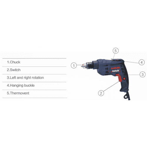 H. Lee Pak Tong - Makute Home & Garden Makute, Electric Drill, model ED003