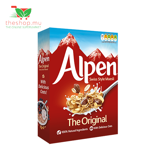 LIM How Brothers - Alpen Pantry Alpen, Swiss Style Muesli Original, 450g