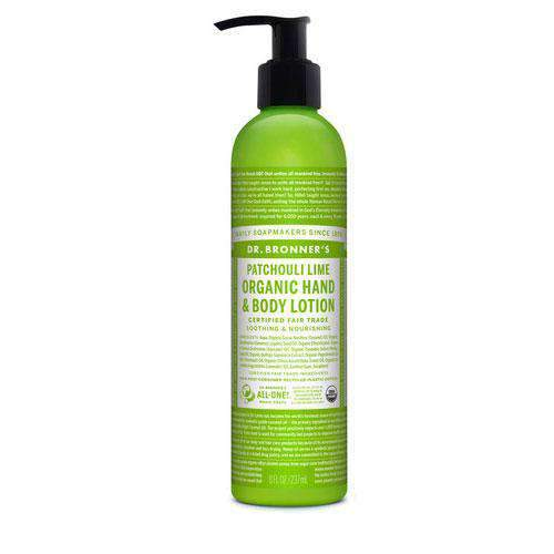 Dr Bronner's, Org. Lime Body Lotion, 237ml