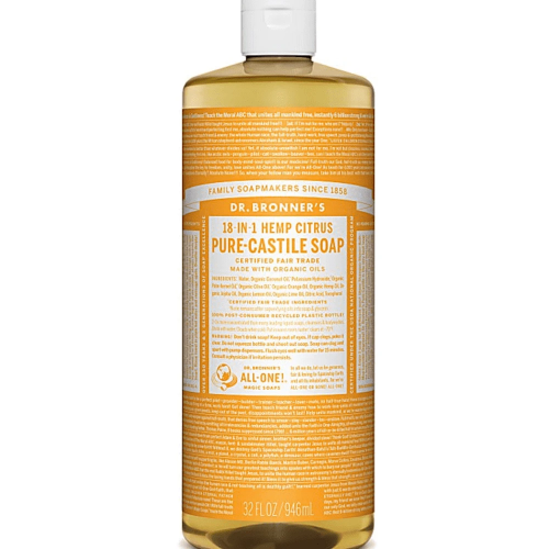 Health Solutions - Dr Bronner's Beauty & Personal Care Dr Bronner's, Organic Citrus Liquid Soap, 946ml