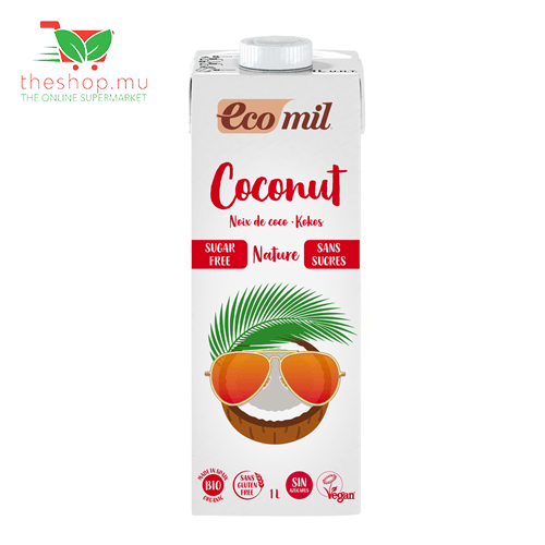 Health Solutions - Ecomil Milk & Eggs Ecomil, Organic Coconut Milk Nature, 1L