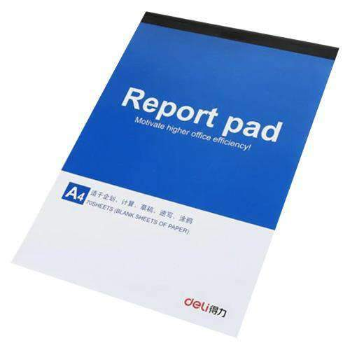 Hobby World - Deli Stationery Deli, Plain Report Pad A5, 70 sheets