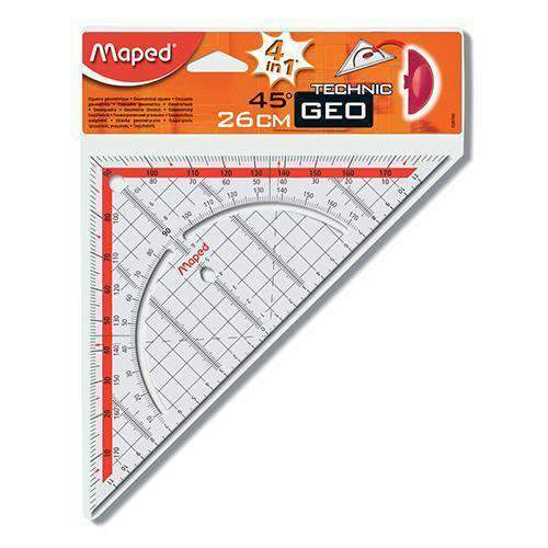 Hobby World - Maped Stationery Maped, Eguerre Geo Technic 46/26cm