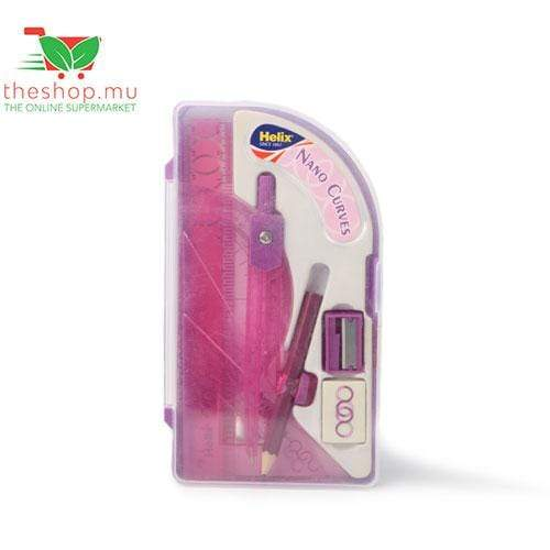 Hobby World Stationery Helix, Pink Cool Curves