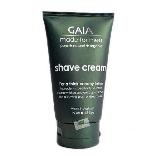 Igest - Gaia Beauty & Personal Care Gaia, For Men, Organic Shave Cream, 150ml