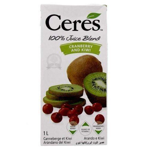 Ceres, Cranberry and Kiwi 1L