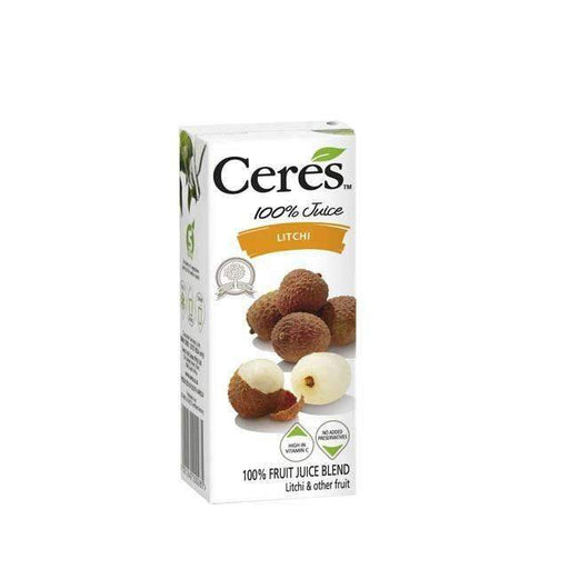 Ceres Litchi 200ml - shop_bungsy