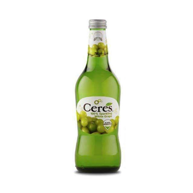 Innodis - Ceres Beverages Ceres, Sparkling White Grape 275ml Glass